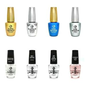 W7 Nail Treatments (7 Different Types) (Hardener, Growth Serum, Top Coat etc)