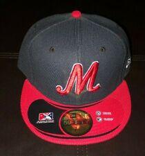 MEMPHIS REDBIRDS NEW ERA FITTED HAT MILB CAP SIZE 7 1/2 NWT BASEBALL CARDINALS