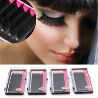 Synthetic Mink Lashes Tray Lash B C D J Curl For Individual Eyelash Extensions