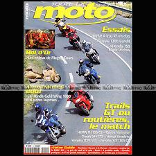 TOUTE LA MOTO N°15 SUZUKI 1200 BANDIT DUCATI ST2 YAMAHA 500 TMAX BMW R 1150 GS