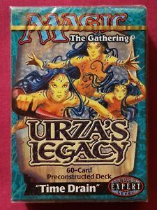 Magic The Gathering URZA'S LEGACY TIME DRAIN New Sealed Precon Theme Deck MTG
