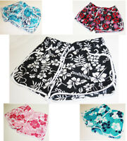 New Ladies Womens Girl Floral Flower Print Beach Board Swimming Hot Pants Shorts