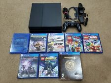 Sony Playstation 4 500gb w/ 8 Games & Controller Charger (Used, Tested)