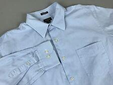 J.Crew Dress Shirt Size Large Blue Striped Long Sleeve Button Up Shirt