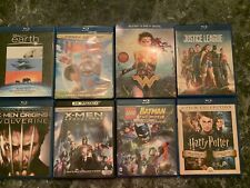 Blu Ray Movie Lot, DC Super Hereos, Harry Potter & More