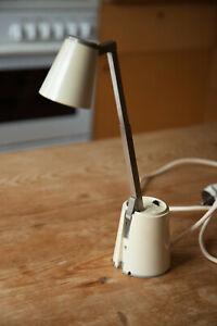 Lampette Design Klassiker 60 er Teleskop Lampe Creme Vintage