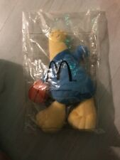 Mcdonalds Olympic Games Mascot Athens 2004 - Blue Mascot With Basketball *Rare*