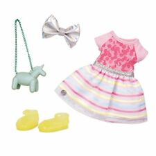 """Glitter Girls by Battat - Shiny Flowers In Bloom Outfit -14"""" Doll Clothes- Toys,"""