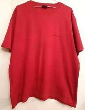 ( Ref 2213 ) Fishbone - Size L - Men's Red Short Sleeve Cotton T-Shirt / Top