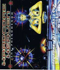 HARDCORE HEAVEN Rave Flyer Flyers A4 10/5/97 Sanctuary Milton Keynes PEZ art
