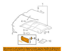 GM OEM Interior-Sunvisor Left 22850306