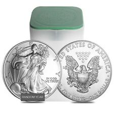 Sale Price - Roll of 20 - 1 oz Silver American Eagle BU (Random Year)