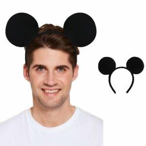 Mickey Mouse Ears Headband Hen Party Fancy Dress Spotted Ladies Kids Boys Girls