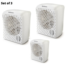 Set of 3 Air Purifier w/ Air Ionizer 2 Speed Multi-Stage Filter Purifier Cleaner