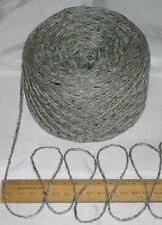 100g Granite Grey Tweed 100% English Wool Double knitting yarn dk 2/4nm British