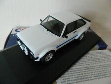 Vanguards Corgi VA12609 Ford Escort MK2 RS 1800 Forest Arches Diamond White