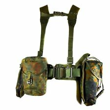 Original German army Webbing system 6 pcs tactical belt harness Load bearing kit