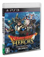 SONY PS3 Japan Dragon Quest Heroes Dark Dragon and the World Tree Castle