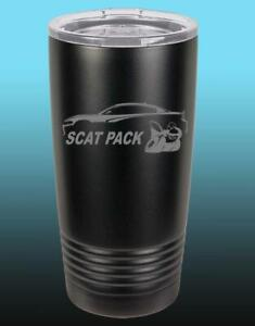 Dodge SCAT PACK Charger Hemi Outline 20oz / 30oz Stainless Steel Tumbler