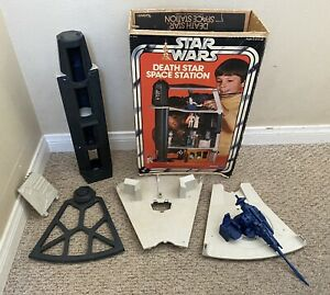 Star Wars Vintage Death Star Space Station Playset with Original Box