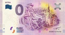 Billet Touristique 0 Euro - Nitra - 2018-1