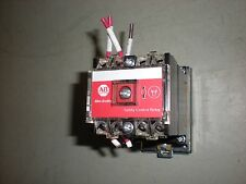 AB Cat. No. 700S-P620DA1 Safety Control Relay on DIN Rail Mount - Tests OK