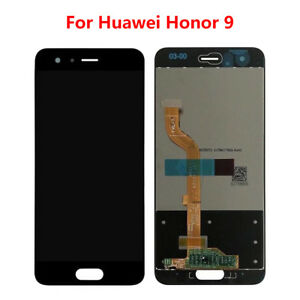 Huawei Honor 9 Display Black LCD Touch Screen Digitizer Front Glass Screen