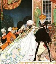 Original Vintage Kay Nielsen Art Deco Nouveau Print 1979 Book Plate