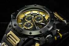 Invicta Men's 50mm Coalition Forces Black and Gold Stainless Steel Quartz Watch