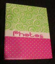 Photo Album 4X6 104 Photos Organizer Wedding Baby Family Pictures Memory Storage