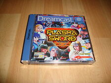 Plasma Sword Nightmare of Bilstein by Capcom Sega Dreamcast but Not
