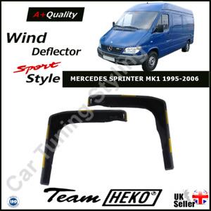 MERCEDES SPRINTER MK1 1995-2006 2-pc Wind Deflectors HEKO Tinted