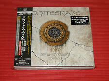 2017 JAPAN ONLY 2 SHM CD SET WHITESNAKE Serpens Album 30th Anniversary