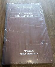 Le origini del capitalismo Brentano Sansoni