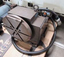 ROTARY TABLE INDEXER W/ FANUC MOTOR, REMOVED FROM ACROLOC M-15 CNC VERTICAL MILL