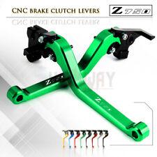 Motorbike CNC Alu Long Brake Clutch Adjustable Levers for KAWASAKI Z750S 06-08