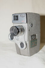VINTAGE ELMO 8R-T 8mm CINE CAMERA WITH ELMO 13mm :1.9 LENS 7485