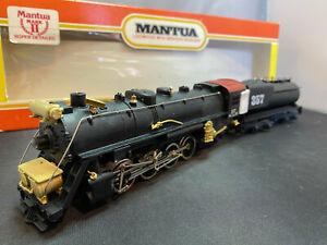 Mantua 321-48 Seaboard Coastline Mark II Mikado Engine Loco & Vandy Tender HO