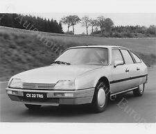 1986 CITROËN CX 22 TRS PRESSEBILD PRESS FACTORY PICTURE BILD WERK FOTO ORIGINAL