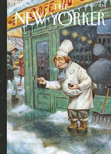 2 Issues of The New Yorker from 2014: January & April Obama (see both photos)