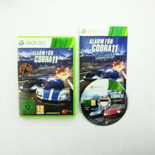 Xbox 360 Jeu Alarme pour Cobra 11 Undercover Emballage D'Origine avec Manuel