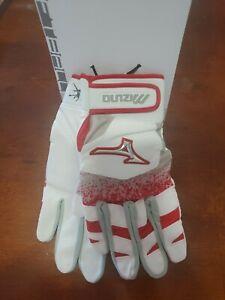 New Women Mizuno Jennie Finch Softball Batting Gloves 330412 ADT 2020 Red Size S