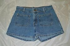 Junior's Levi's Denim Blue Jean Shorts ~ Sz 5 ~ 100% Cotton ~ Short