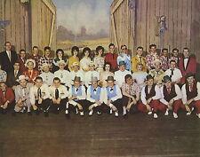 WWVA Jamboree Cast Bluegrass Jimmy Martin Roy Scott Photo 8x10 photo R5329