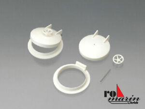 ROMARIN Deck Hatch Diameter 29mm (2) - Model Boat Fittings