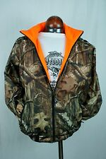 Winchester Reversible Waterproof Rain Jacket XXLarge Camo Mossy Oak Blaze Orange