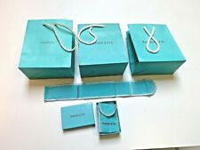 TIFFANY & Co. LOT empty gift Bags~Pouches~Box
