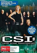 CSI - Crime Scene Investigation Series : Season 5 : NEW DVD