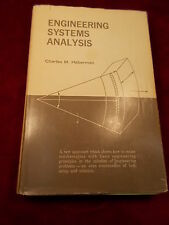 "OLD VTG 1965 BOOK ""ENGINEERING SYSTEMS ANALYSIS"" CHARLES M. HABERMAN, GOOD+ COND"