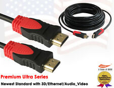 25FT Super Speed HDMI Cable with Ethernet-Ultra Series-Support Ethernet,3D,Audio